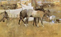 Gurney Journey: Joseph Crawhall (British, 1861-1913)