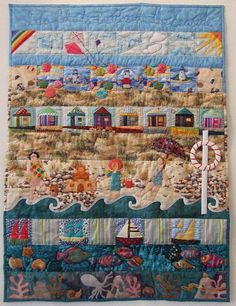 Quilt Show 2010 by Barry Sharples I do like to be beside the seaside by Doreen Gough exhibited at Llanidloes