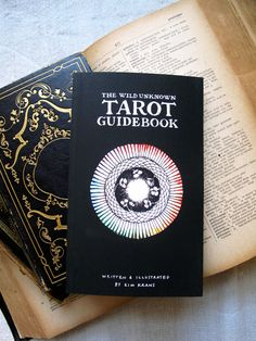 A sweet and helpful guide to all your tarot needs. 200 pages of info and drawings, handwritten by Kim Krans. This book is especially great for those