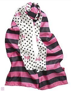 Love this simple & fun #BetseyJohnson scarf. Need it in my life