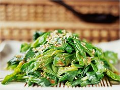 Wilted Green Salad with Autumn Cranberry Dressing Salad Recipes