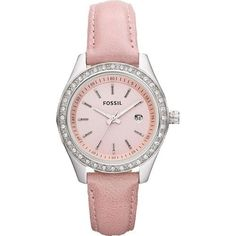 Fossil Stella Mini Leather Watch - Pink Fossil. $84.89. Mineral Crystal. 50 Meters / 165 Feet / 5 ATM Water Resistant. 30mm Case Diameter. Leather Collection. Quartz Movement