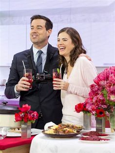 Valentine's Day for busy parents: Carson Daly, Siri Pinter share 3 go-to recipes