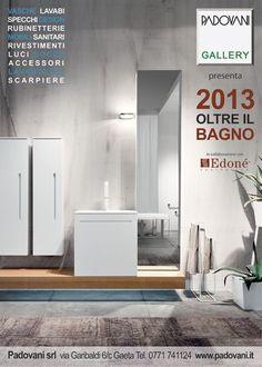 Edoné Design: cura dei dettagli e personalizzazione delle finiture evidenziano l'uso di materiali di pregio in mobili per il bagno dal design raffinato e dallo stile inconfondibile del Made in Italy