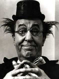 """Ed Wynn, (Isaiah Edwin Leopold - November 9, 1886 - June 19, 1966) """"The late, great Ed Wynn. From bringing an animated Mad Hatter to life, to making me laugh hysterically as Uncle Albert in Disney's version of 'Mary Poppins', he has brought me so much joy."""" ~anon."""