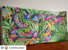 Ma ra vi lho so #Repost @worldtravelart ・・・ Just finished with my version…