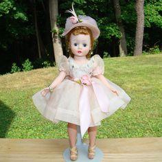 C1957 Cissette Doll Mystery Beauty Pink Dress Madame Alexander ex from americanbeautydolls on Ruby Lane