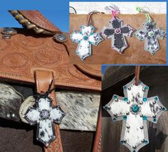 saddle crosses at cowgirl glitz tack