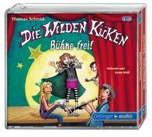 Die Wilden Küken – Bühne frei! (3 CD) - Schmid / Moll (ab 8 Jahren)