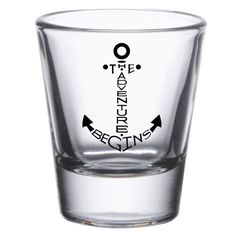 Great Boat Shot Glasses - Let your adventure begin whatever your poison -