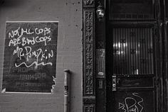 NYC New York Street, Cops, Chalkboard Quotes, Art Quotes, Nyc, Neon Signs, Explore, New York City, Exploring