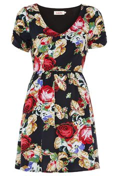 Louche Dellana Flower Dress