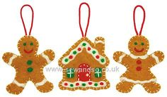 Shop online for Sweet Gingerbread Ornaments Needle Felting Kit at sewandso.co.uk. Browse our great range of cross stitch and needlecraft products, in stock, with great prices and fast delivery.