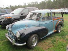 The Daily Driver Project ● Street Spot: Morris Minor Wagon Morris Minor, Car Show, Antique Cars, Automobile, British, Vans, Bmw, Street, Classic