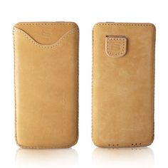 iPhone 5 Cover in Tan Suede - TheSnugg.co.uk