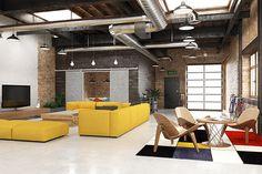 A decoração com pegada industrial está em alta. Que tal copiar aí na sua casa?