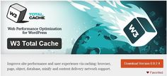 Кеширование и ускорение W3 Total Cache  Improve site performance and user experience via caching: browser, page, object, database, minify and content delivery network support.