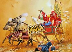 """""""Ancient chinese - Chariot, Western Chou, c. 800 BC"""""""