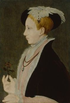 King Edward VI, by Unknown artist, after Guillim Scrots (Guillim Stretes or William Scrots), circa 1546 - NPG 442 - © National Portrait Gallery, London Lady Jane Grey, Catherine Parr, Elisabeth I, 16th Century Fashion, King Henry Viii, National Portrait Gallery, Art Uk, Old Master, Portraits