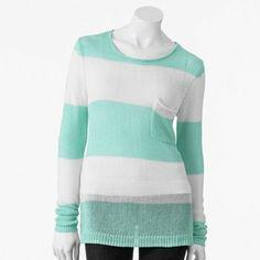 ELLE Striped Sweater