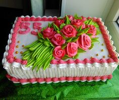 Creative Cake Decorating, Birthday Cake Decorating, Cake Decorating Tutorials, Creative Cakes, Buttercream Fondant, Cake Icing, Eat Cake, Cupcake Cakes, Rectangle Cake