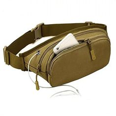 Tool for US Military Fanny Pack Tactical Waist Bag Pack Waterproof Hip Belt Bag Pouch for Hiking, Climbing Waist pack Outdoor Bumbag * Find out more about the great product at the image link.