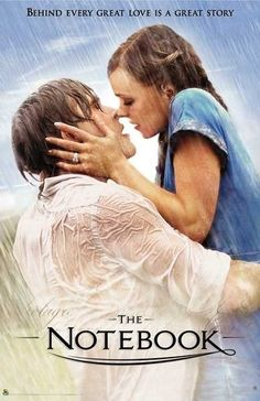 """The Notebook: You know that feeling when you are watching a movie and you think """"I want a love like that!"""" This is definitely one of whose for me! It's so beautiful :')"""