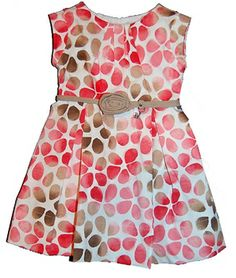 Mayoral Watercolor Floral Sundress in Pink from Mayoral - Spain at Pumpkinheads