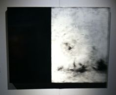 (un)Scene Art Fair 3/2015 - Nancy Hubbard, Wuthering, 2014. Gesso, charcoal, graphite, pigment, wax & wood.
