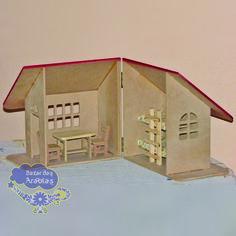 Casa de madeira, casa de boneca, casinha de boneca, brinquedos bohney, casa mirim casa de boneca, brinquedos educativos, brinquedos de madeira, brincar