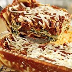 Extra-Easy Spinach Lasagna - Allrecipes.com