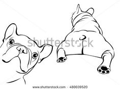 Illustration about Dog vector breed cute pet animal bulldog french. Illustration of comic, boxer, bulldog - 88950421 French Bulldog Tattoo, French Bulldog Art, Bulldogs, Bulldogge Tattoo, Baby Animals, Cute Animals, Pet Breeds, Dog Anxiety, Dog Vector