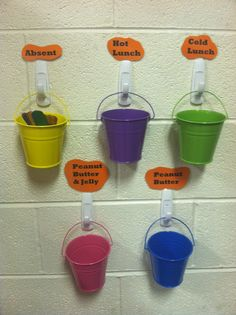 This is a fun and easy way to take attendance and lunch count each day.