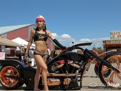 Women Sturgis Motorcycle Rally 2014 I want her body now.