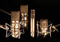 Sonica Recording Studios Microphone List.