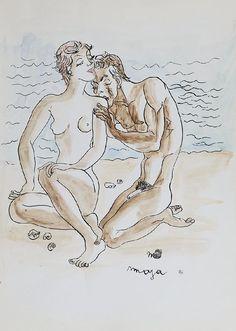 Zaloty na plazy, 1965, Maja Berezowska
