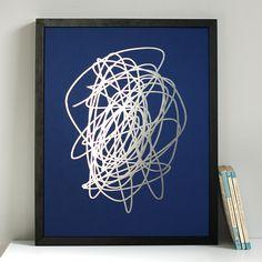 Scribble print