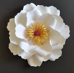 Paper flower backdrop Paper flower wall decor Photo prop