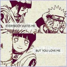 While every body hated u she was the only one that loved u #Naruto #Hinata