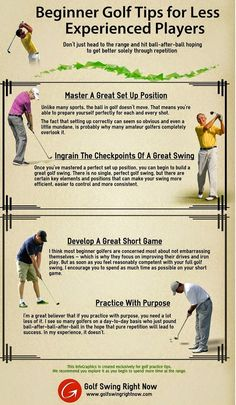 Thosw who want to learn basic fundamentals of Golf here is the useful tips…
