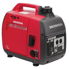 Lightweight, portable generators from Honda - perfect to help light a salvage job or great for camping!