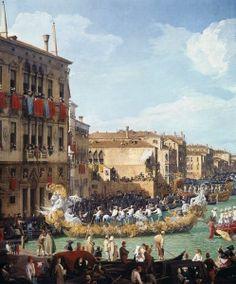 Carnival by Giovanni Antonio Canaletto