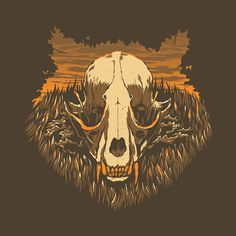 """I really dig these Ryan Lynn art prints """"The Woodlands"""": """"The Wolf"""", """"The Owl"""", and """"The Raccoon"""" are all 12″ x 12″ screenprints. RyanLynnDesign.com."""