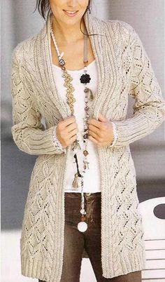 c34cef6546874 Womens Hand Knit Cardigan. Premium Quality Yarns. Any Sizes and Any Colors.  Made