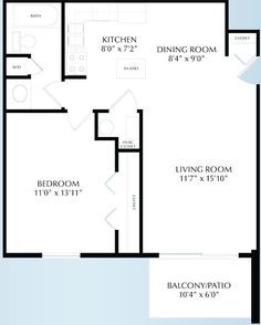 One Bedroom Layout Worcester Ma One Bedroom