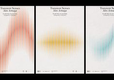 The Transient Series posters have been done by Pol Pintó. There is only one element used in the design here- sound waves. But they have been placed so beautifully that it completely redefines minimalism. Cool Poster Designs, Poster Design Layout, Poster Design Inspiration, Daily Inspiration, Brand Inspiration, Wave Design, Sound Design, Print Design, Design Design