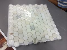 Hexagon marble, Home Depot