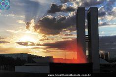 Fim de tarde em Brasília.