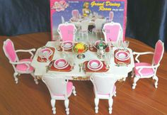 My First collection Fancy life playset Grand dinning room