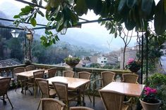 Can N'antuna - Fortlux, Mallorca - restaurant in hills/one of the prettiest villages on island